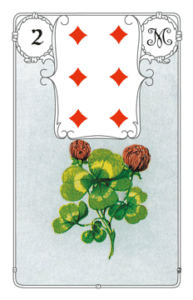 """Karte """"Klee"""" im Lenormand"""