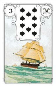 "Karte ""Schiff"" im Lenormand"