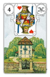 "Karte ""Haus"" im Lenormand"