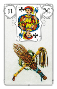 "Karte ""Rute"" im Lenormand"