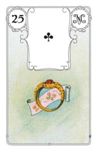 """Karte """"Ring"""" im Lenormand"""