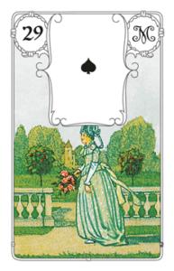"Karte ""Frau"" im Lenormand"