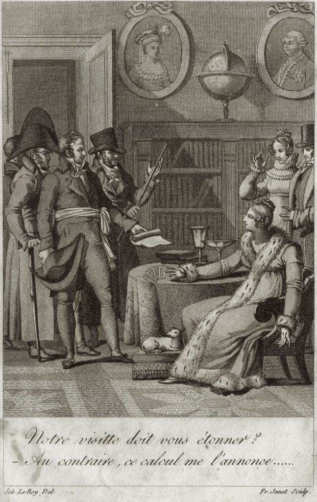 Madame Lenormand Verhaftung