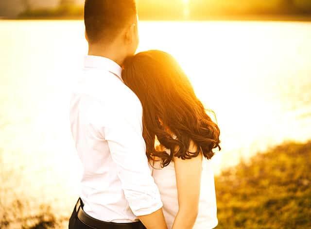 Junges Paar beim Date