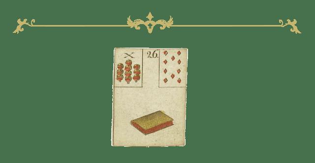 Legesystem Lenormand Tageskarte