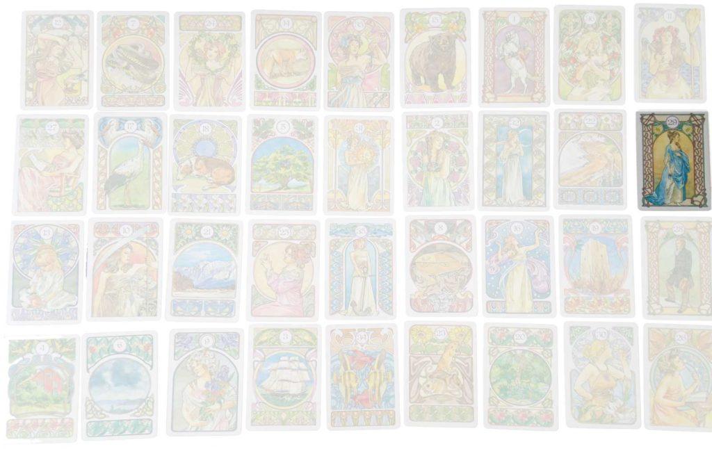 Grosse Tafel - Personenkarte